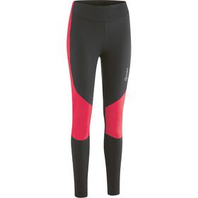 Gonso Tartu Raw Thermo Pants Women black/diva pink